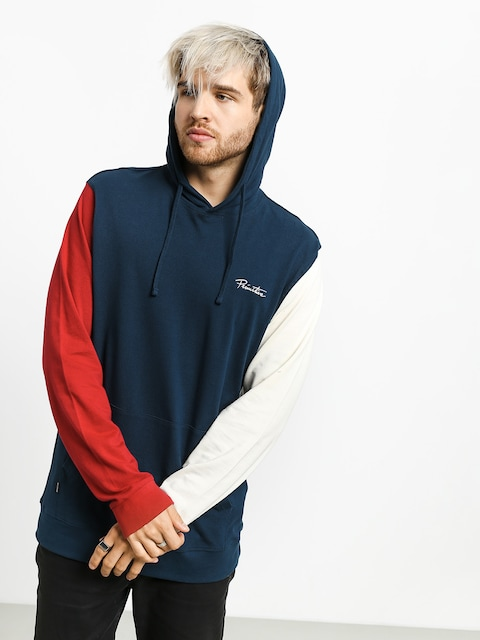 Primitive Sleeve Block Pique HD Hoodie (navy)