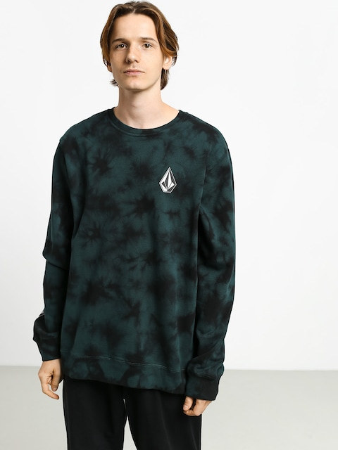 Volcom Deadly Stone Crew Sweatshirt (evergreen)