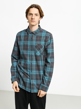 Volcom Caden Plaid Shirt (asphalt black)
