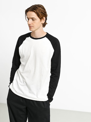 Element Blunt Longsleeve (off white/black)