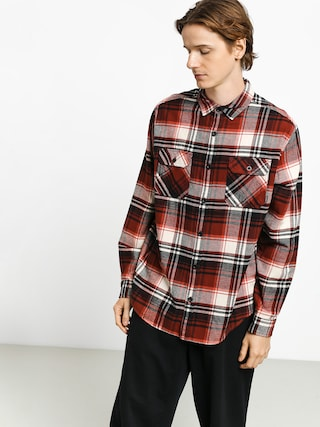 Burton Brighton Flnl Shirt (true black stump pld)