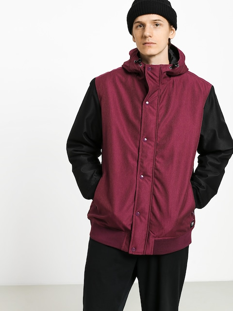 Vans Wells Mte Jacket (prune/black)