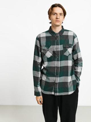 Vans Box Flannel Shirt (trekking green/grey heather)