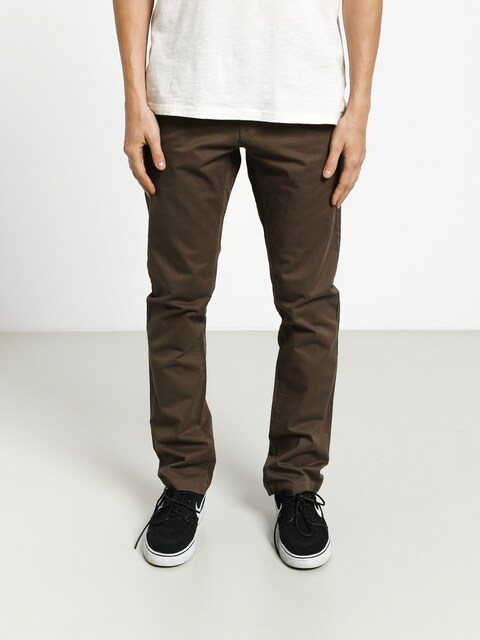 Volcom Frickin Slim Chino Pants (major brown)