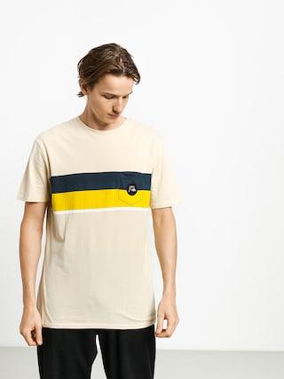 Quiksilver Multiply Stripe T-shirt (brazilian sand)
