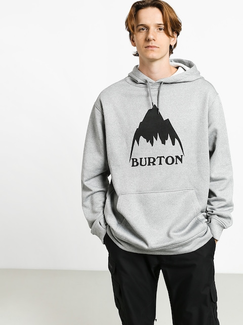 Burton Oak HD Hoodie (mtn gray heather)