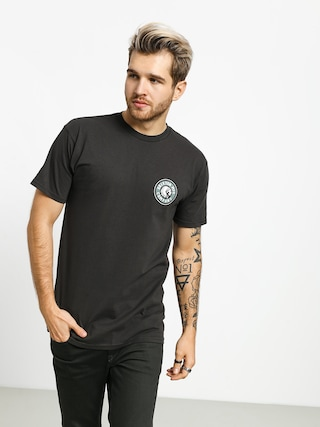 Brixton Rival II Stnd T-shirt (washed black/emerald)