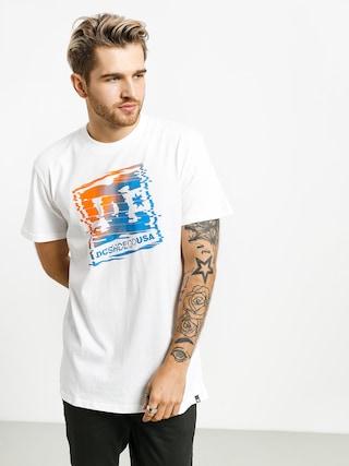 DC Tv Glitch T-shirt (snow white)