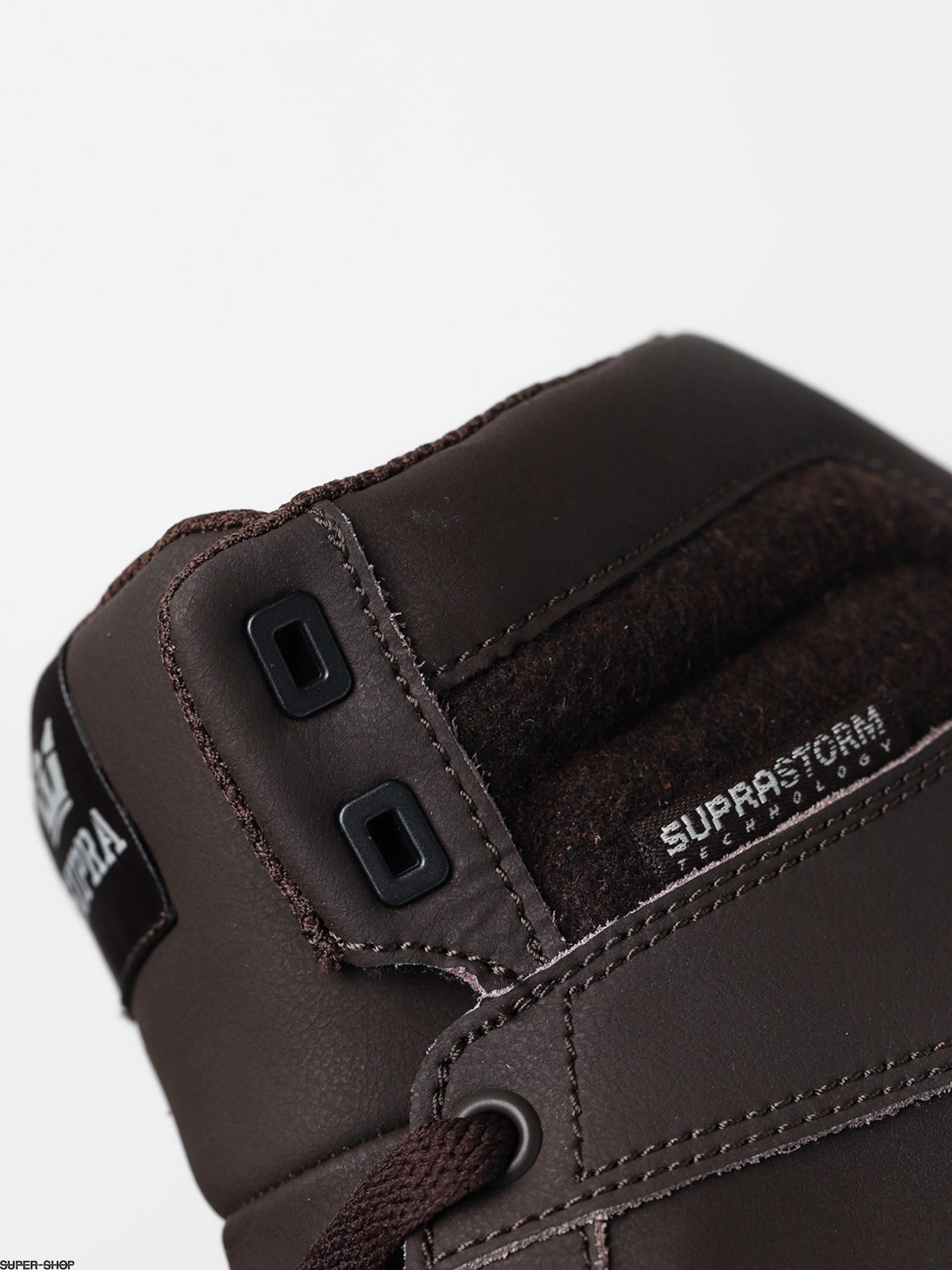 Chaussures SUPRA ALUMINUM demitasse black white