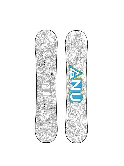 Gnu Asym Recess Btx Snowboard (multi)