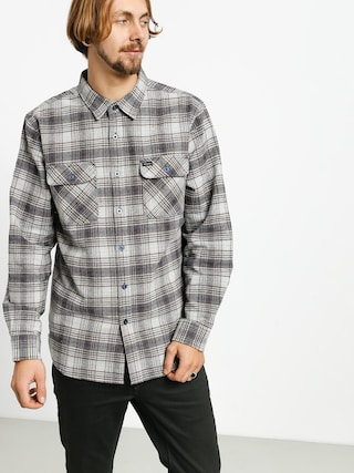 Brixton Bowery Flannel Ls Shirt (twilight blue)