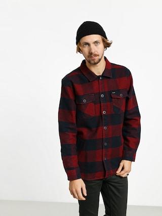 Brixton Durham Flannel Ls Shirt (navy/red)