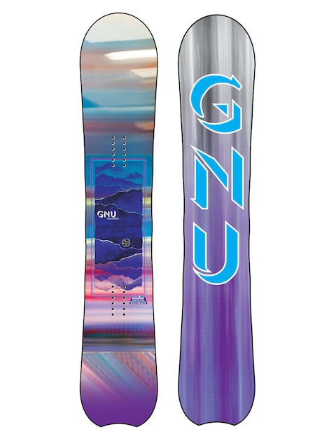 Gnu Chromatic Btx Snowboard Wmn (multi)
