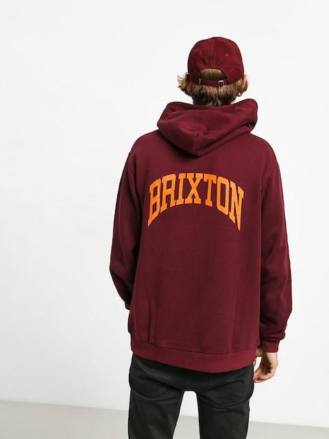 Brixton Forte V Intl HD Hoodie (maroon)