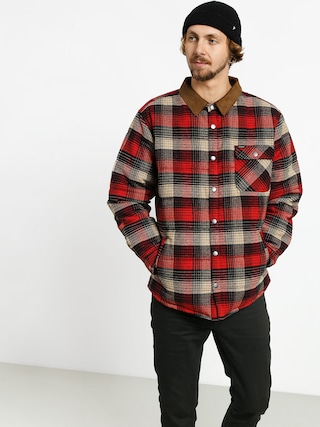 Brixton Cass Jacket (red/black combo)