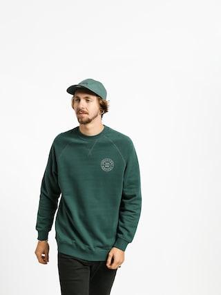 Brixton Oath Crew Sweatshirt (emerald)