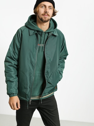 Brixton Claxton Collar Sherpa Jacket (emerald)