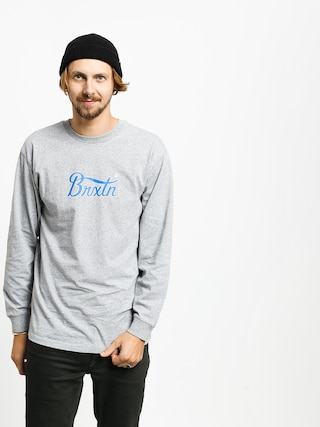 Brixton Stith VI Stt Longsleeve (heather grey)