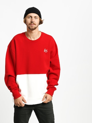 Es Cera Tech Crew Sweatshirt (red/white)