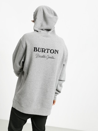 Burton Durable Goods HD Hoodie (gray heather)