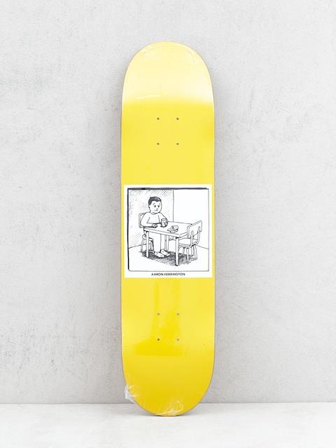 Polar Skate Spilled Milk Deck (yellow)