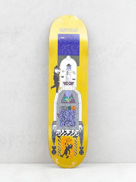 Polar Skate Paul Grund Legacy Deck (yellow)
