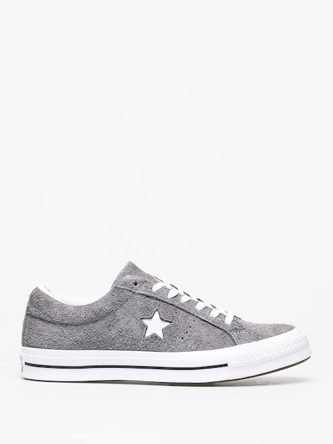 Converse One Star Ox Chucks (carbon grey/white/black)