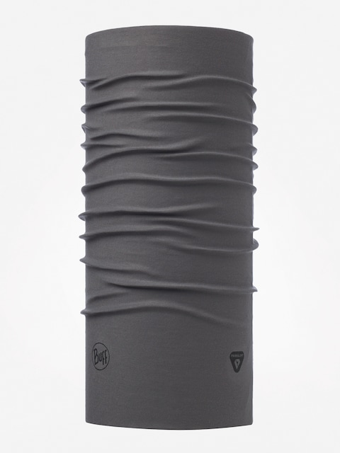 Buff Thermonet Neckwarmer (solid grey castlerock denim)