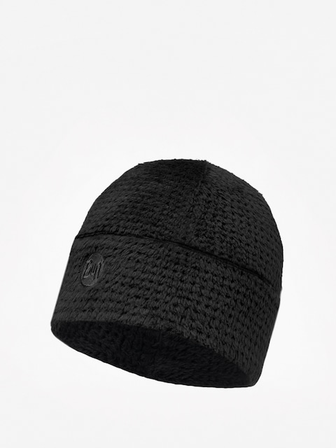 Buff Polar Thermal Beanie (solid graphite black)