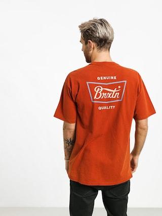 Brixton Stith Stnd T-shirt (picante)