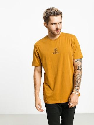 Brixton Main Label II Prt T-shirt (maize)