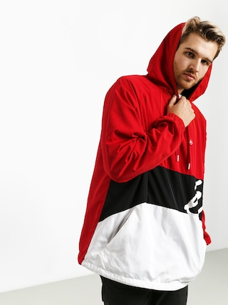 Es den Anorak Jacket (red/white)
