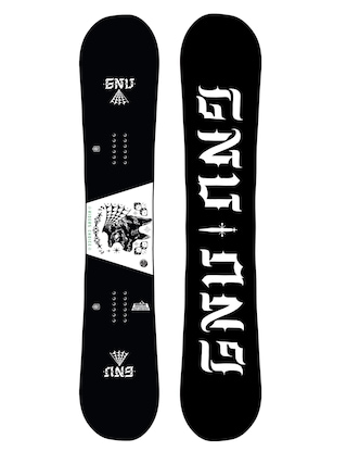 Gnu Asym Riders Choice C2X Snowboard (dog)