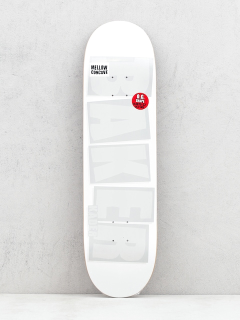 Baker Ks Brand Name Deck (white tonal)