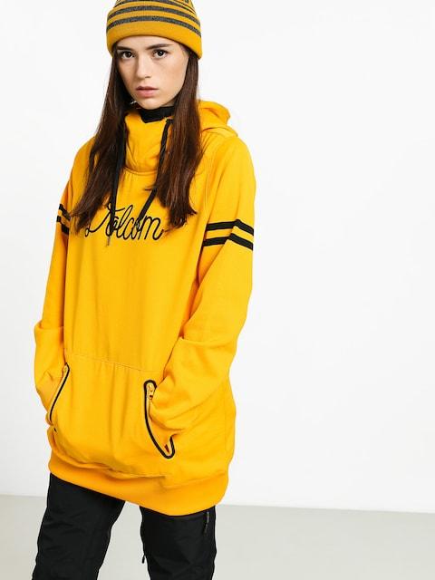 Volcom Spring Shred HD Active sweatshirt Wmn (yel)