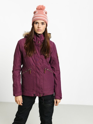 Roxy Meade Snowboard jacket Wmn (grape wine)