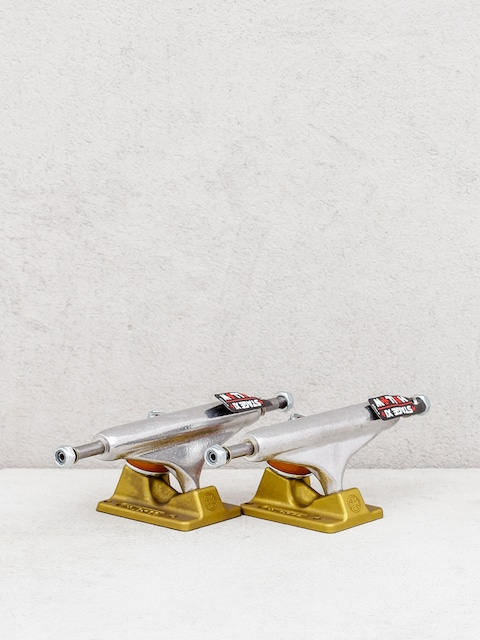 Independent Stg 11 Hollow Silver Anodized Trucks (gold)