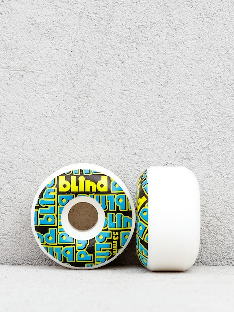 Blind Stacked Wheels (yellow/blue)