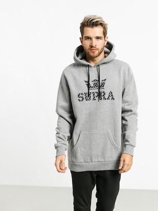 Supra Above HD Hoodie (heather grey/grid)