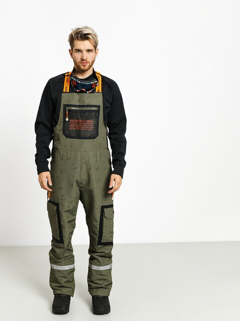 DC Revival Bib Snowboard pants (desert night camo)