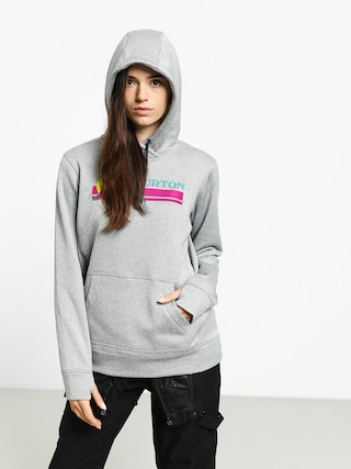 Burton Oak HD Hoodie Wmn (gray heather)