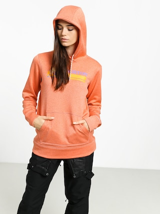 Burton Oak HD Hoodie Wmn (crabapple heather)