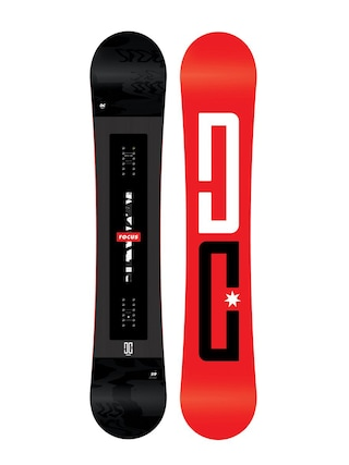 DC Focus Snowboard (red/black)