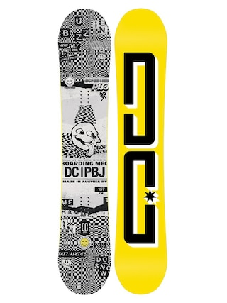 DC Pbj Snowboard (yellow/black.white)