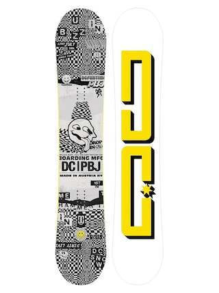 DC Pbj Snowboard (white/yellow/black)