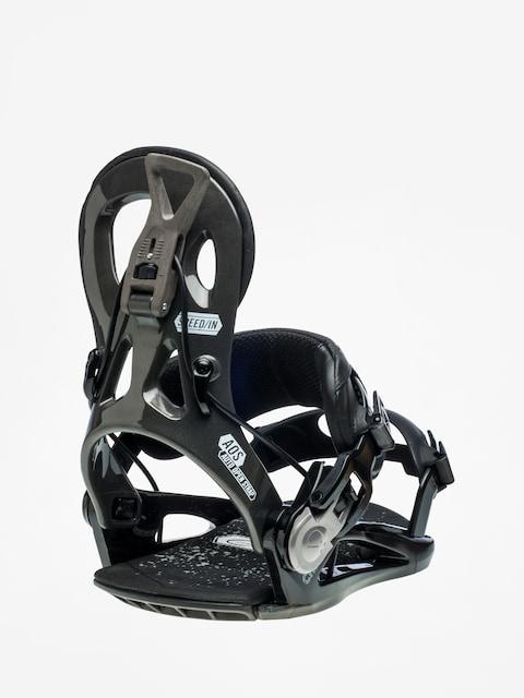Gnu Cheeter Snowboard bindings (black)