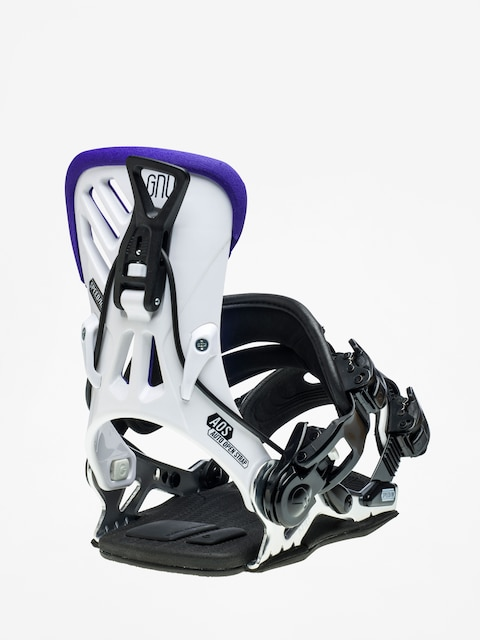 Gnu B-Free Snowboard bindings Wmn (white)