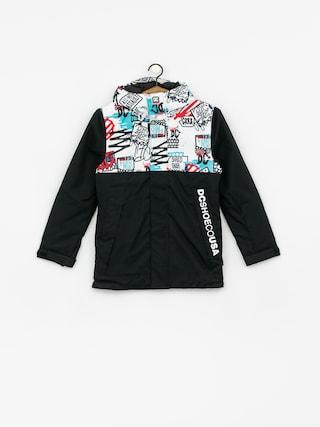 DC Defy Yth Snowboard jacket (yth mini ply print)