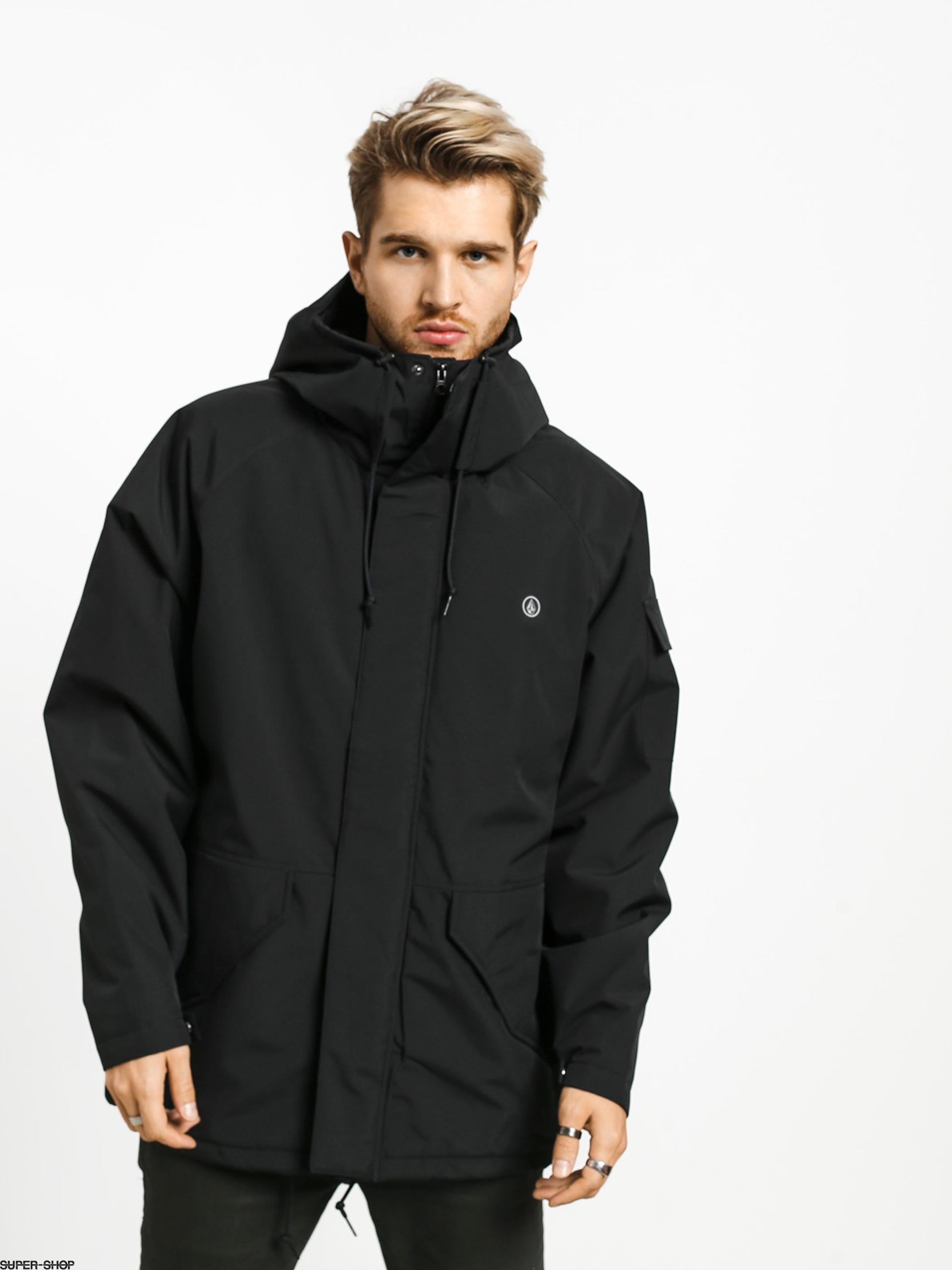 Volcom Synthwave 5K Jacket Chaqueta Black Hombre