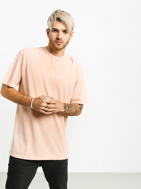 Primitive Wave Pigment Dyed T-shirt (peach)